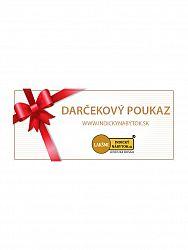 indickynabytok.sk - Dárčekový poukaz, 200 €