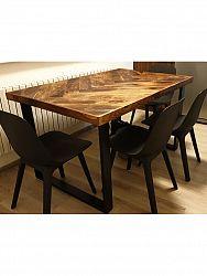 indickynabytok.sk - Jedálenský stôl 175x90 indický masív palisander, Only stain