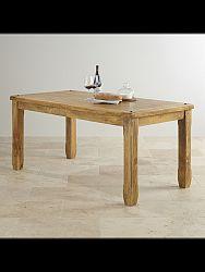 indickynabytok.sk - Jedálenský stôl Devi 120x90 indický masív mango, Mango natural