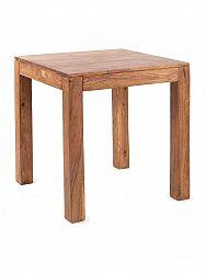 indickynabytok.sk - Jedálenský stôl Gani 80x80 indický masív palisander, Natural