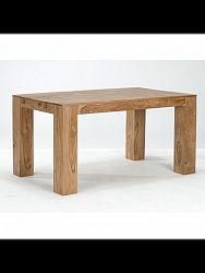 indickynabytok.sk - Jedálenský stôl Tara 140x90 Indický masív palisander, Svetlomedová