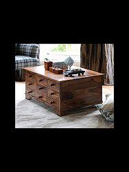 indickynabytok.sk - Konferenčný stolík 90x45x60 indický masív palisander, Natural