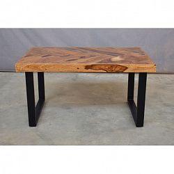 indickynabytok.sk - Konferenčný stolík 90x45x60 indický masív palisander, Only stain