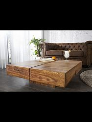 indickynabytok.sk - Konferenčný stolík Gani 85x35x85 indický masív palisander/sheesham, Only stain