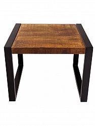 indickynabytok.sk - Konferenčný stolík Retro 60x45x60 indický masív mango, Mango natural