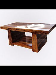 indickynabytok.sk - Konferenčný stolík Tara 115x45x60 indický masív palisander/sheesham, Only stain
