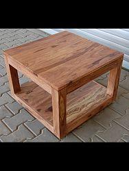 indickynabytok.sk - Konferenčný stolík Tara 90x45x90 indický masív palisander/sheesham, Only stain