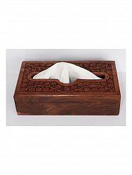 indickynabytok.sk - Krabička na obrúsky 27,5x7,5x15 z indického masívu palisander