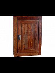 indickynabytok.sk - Nástenná skrinka do kúpeľne 40x60x15 indický masív palisander, Super natural