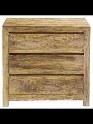 indickynabytok.sk - Nočný stolík Gani 45x60x40 indický masív palisander, Natural