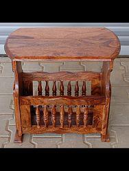 indickynabytok.sk - Odkladací stolík 56x48x33 z indického masívu palisander, Super natural