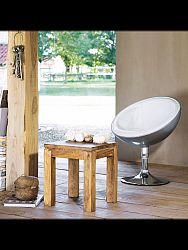 indickynabytok.sk - Odkladací stolík Gani 40x45x40 indický masív palisander, Only stain