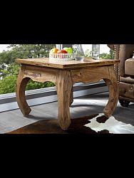 indickynabytok.sk - Odkladací stolík Kali 40x40x40 indický masív palisander, Super natural