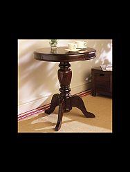 indickynabytok.sk - Okrúhly stolík Jali 50x60x50 indický masív palisander, Orech