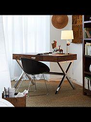indickynabytok.sk - Písací stôl 115x76x60 z indického masívu palisander, Svetlomedová