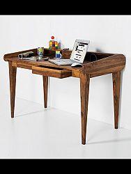 indickynabytok.sk - Písací stôl 130x85x70 indický masív palisander, Natural