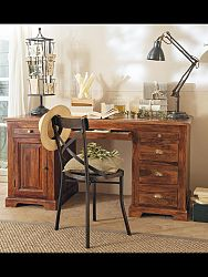indickynabytok.sk - Písací stôl 160x80x80 indický masív palisander, Only stain