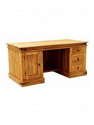 indickynabytok.sk - Písací stôl Jali 160x76x80 indický masív palisander, Natural