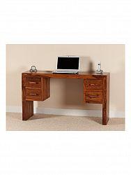 indickynabytok.sk - Písací stôl Kali 130x76x70 indický masív palisander, Natural