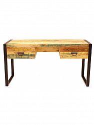 indickynabytok.sk - Písací stôl Retro 160x76x70 z recyklovaného mangového dreva, Old spice