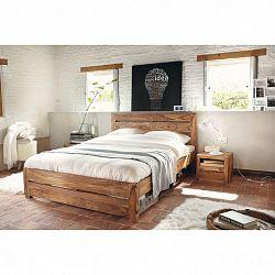 indickynabytok.sk - Posteľ Gani 160x200 indický masív palisander, Only stain