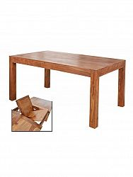 indickynabytok.sk - Rozkladací stôl Gani 140/180x90 indický masív palisander, Natural