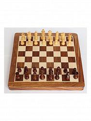 indickynabytok.sk - Šachy / Šachy cestovné a magnetické 25x25x2,5 z indického masívu palisander