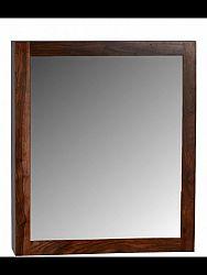 indickynabytok.sk - Skrinka so zrkadlom do kúpeľne 65x80x15 indický masív palisander, Natural