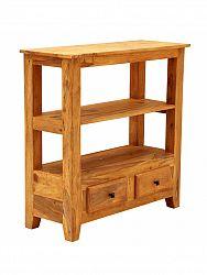 indickynabytok.sk - TV stolík, alebo konzolový stolík Jali 90x90x35 indický masív palisander, Only stain