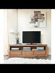 indickynabytok.sk - TV stolík Gani 160x50x45 indický masív palisander, Svetlomedová