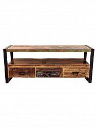 indickynabytok.sk - TV stolík Retro 150x60x45 recyklované mangové dreva, Old spice