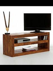 indickynabytok.sk - TV stolík Tara 118x55x45 indický masív palisander, Svetlomedová