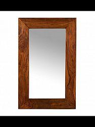 indickynabytok.sk - Zrkadlo Gani 60x90x2,5 indický masív palisander, Natural