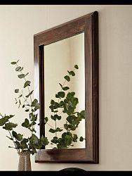 indickynabytok.sk - Zrkadlo Tara 60x90x2,5 indický masív palisander, Natural