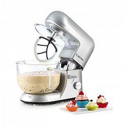 Klarstein Bella Argentea 2G, kuchynský robot, 1200 W, 2,5/5,2 l, sklená misa, strieborná farba