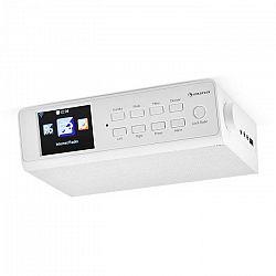 """Auna KR-190, biele, internetové kuchynské rádio, zabudovateľné, WiFi, riadenie cez aplikáciu, 3,2"""" TFT displej"""