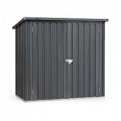 Blumfeldt Solid Storage, domček na náradie, oceľový plech, ochrana pred poveternostnými vplyvmi, antracitový