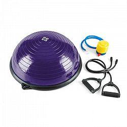 Capital Sports Balanci Pro Balance, balančná pologuľa,Ø58cm PVC/PP, expander, fialová