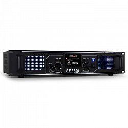 Hi-fi zosilňovač Skytec SPL-500, 1600 W, USB, SD, MP3