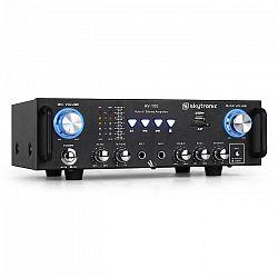 Hi-fi zosilňovač Skytronic 103.208 AV-100, karaoké, SD, USB