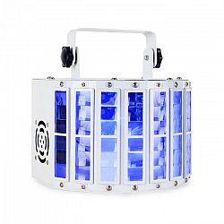 Ibiza LED Derby LED diódový efekt, DMX, RGBW