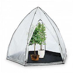 Waldbeck Greenshelter L, skleník na prezimovanie rastlín, 340 x 280 cm, oceľové tyče Ø 25 mm, PVC